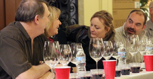A tasting event at Vine & Table, Carmel, was a near sell-out event!