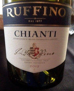 Reliable Ruffino, but not the Classico.