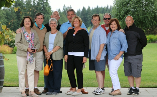 I had an awesome group on my first wine tour. We had so much fuN!