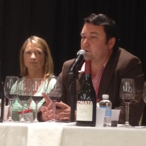 Mike Larner spoke about terroir and his wine.
