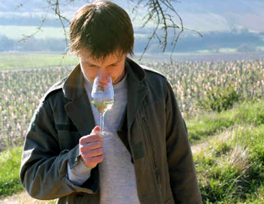 John Baptiste in his vineyard.