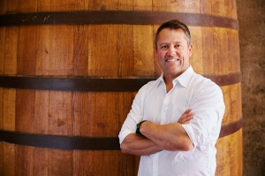 Gary Sitton in Barrel room 2